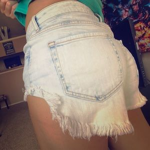 Forever21 bleached shorts
